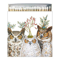 Paperproducts Design Holiday Hoot Square Box Matches