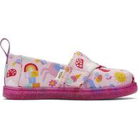 TOMS Toddler Girls' Tiny TOMS Unicorn Alpargata Shoe