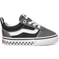 Vans Toddler Boys' Ward Checker Tape Canvas Slip-On Shoe