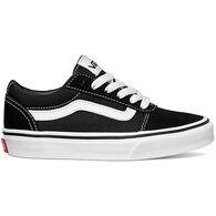 Vans Boys' Ward Suede Canvas Sneaker
