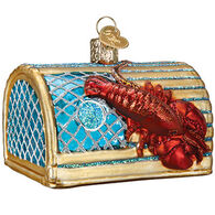 Old World Christmas Lobster Trap Ornament