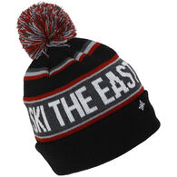 3ada622d336460 Ski The East Youth Tailgater Pom Beanie