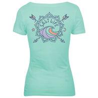Salt Life Women's Love Struck V-Neck T-Shirt