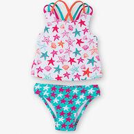 Hatley Girl's Starfish Sporty Tankini