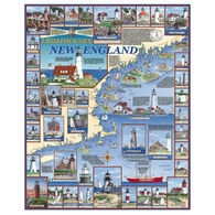 White Mountain Jigsaw Puzzle - Lighthouses Of New England