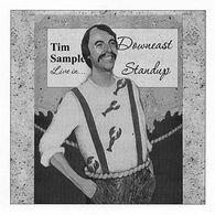 Downeast Standup CD by Tim Sample
