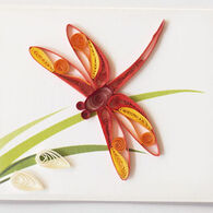 Quilling Card Dragonfly Gift Enclosure Card