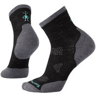 SmartWool Women's PhD Run Cold Weather Mid Crew Sock