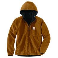 Carhartt Men's Big & Tall Rain Defender Relaxed Fit Fleece Reversible Jacket