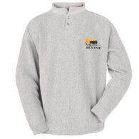 ESY Men's Sunset Moose Henley Shirt