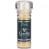 Maine Sea Salt Garlic Refillable Grinder