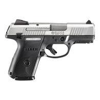 "Ruger SR9c 9mm Matte Stainless 3.4"" 10-Round Pistol"