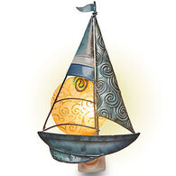 DECO FLAIR Sailboat Nightlight