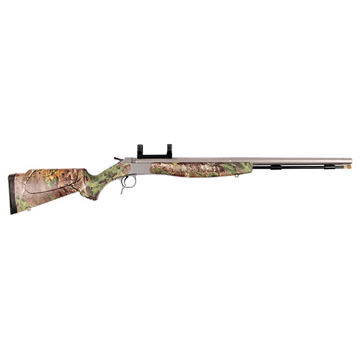 CVA Optima V2 50 Cal. Stainless Steel / Realtree Xtra Green Muzzleloader w/ Dead-On Scope Mount
