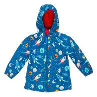Stephen Joseph Toddler Boy's Space Rain Jacket