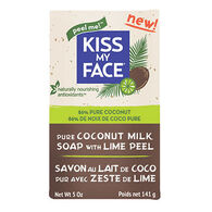 Kiss My Face All-Natural Pure Coconut Milk w/ Lime Peel Bar Soap