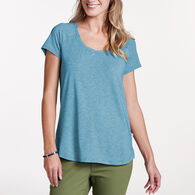 Toad&Co Women's Swifty Scoop-Neck Short-Sleeve T-Shirt