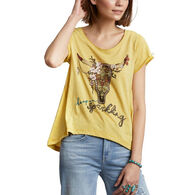 Odd Molly Women's Keep On Sparkling Short-Sleeve T-Shirt
