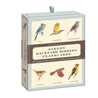 Sibley Backyard Birding Flashcards: 100 Common Birds Of Eastern And Western North America By David Allen Sibley