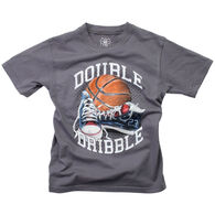 Wes And Willy Boy's Double Dribble Short-Sleeve T-Shirt