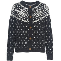 Woolrich Women's Snowfall Valley Snowflake Cardigan Sweater