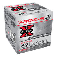 "Winchester Super-X High Brass 410 GA 2-1/2"" 1/2 oz. #6 Shotshell Ammo (25)"