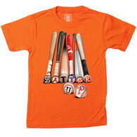 Wes And Willy Boy's Batter Up Short-Sleeve T-Shirt