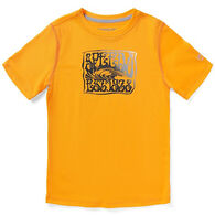 Speedo Boy's Graphic Short-Sleeve Swim Shirt
