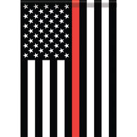 Carson Home Accents Flagtrends Thin Red Line Classic Garden Flag