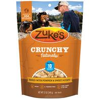 Zuke's Crunchy Naturals 10s Baked with Pumpkin & Sweet Potato Dog Treat - 9 oz.