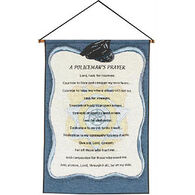 Manual Woodworkers & Weavers Policemans Prayer Wall Hanging