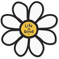 Life is Good Daisy Die-Cut Sticker