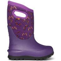 Bogs Girls' Neo-Classic Butterflies Insulated Boot