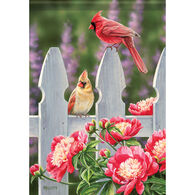 Carson Home Accents Flagtrends Cardinal Gate Garden Flag