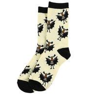 Lazy One Men's Bat Moose Crew Sock