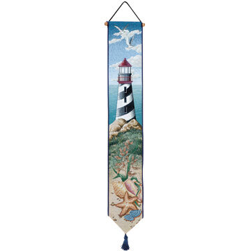 Manual Woodworkers & Weavers Lighthouse View Bellpull