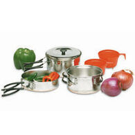 Texsport Two-Person Stainless Steel Cook Set