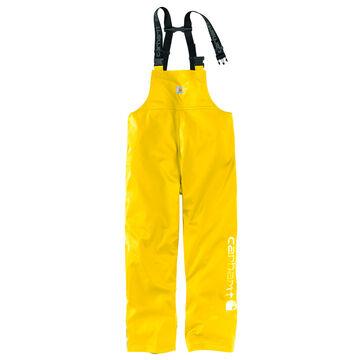 Carhartt Mens Lightweight Waterproof Rainstorm Bib Overall