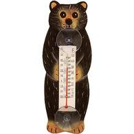 Bobbo Black Bear Window Thermometer