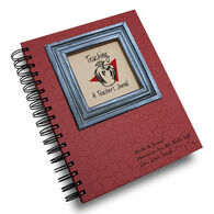 """Journals Unlimited """"Write It Down!"""" Color Collection Teacher Journal - Red"""