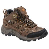Merrell Boys' Moab 2 Mid Waterproof Hiking Boot