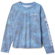 Columbia Girl's Solar Chill Printed Long-Sleeve Shirt