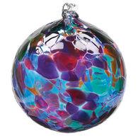 """Kitras Calico 3"""" Glass Ball"""