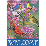 Carson Home Accents Flagtrends Winged Gathering Garden Flag