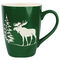 Cape Shore Maine Moose Etched Mug