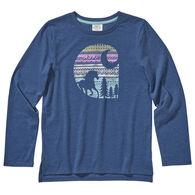 Carhartt Girl's Heather Graphic Long-Sleeve Shirt