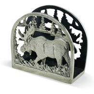 Big Sky Carvers Moose Metal Napkin Holder