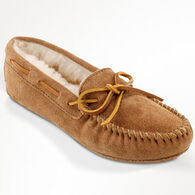 Minnetonka Women's Sheepskin Softsole Moccasin Slipper