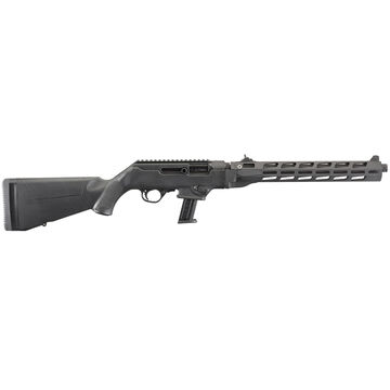 Ruger PC Carbine Threaded Barrel & Free-Float Handguard 9mm 16.12 17-Round Rifle