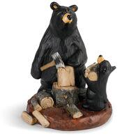 Big Sky Carvers Daddy's Helper Bearfoots Figurine